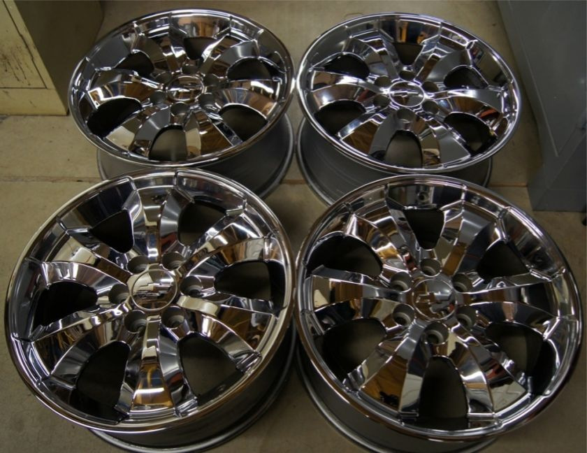 NEW GMC Sierra Yukon Denali Cadillac Escalade 20 OEM Chrome Wheels
