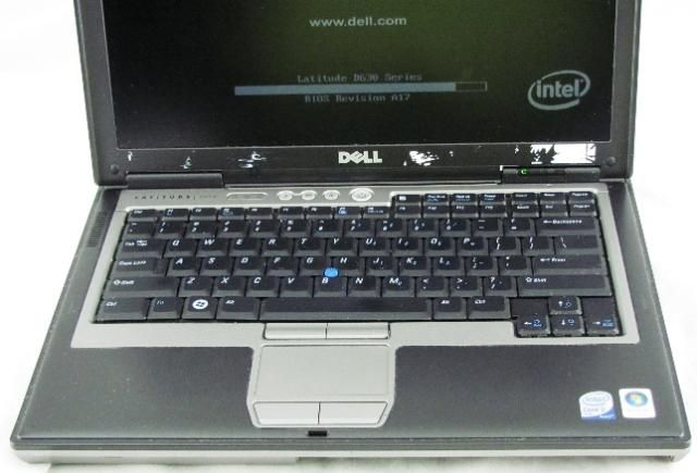 Dell Latitude D630 Core 2 Duo 2.20GHz 2048MB Laptop with AC Adapter