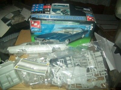 1969 Ford Galaxie Hard Top Plastic Model 1/25